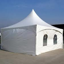 Solid tent side walls