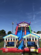 <font color=blue>18' Carnival Slide<br><font color=red><marquee>***NOT USED WITH WATER***</marquee>