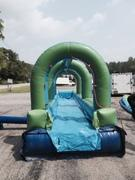 <font color=blue>Slip n Dip<br><font color=red> Single Lane Slip n Slide<font color=black>