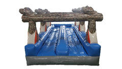 <font color=blue>Log Slip n Slide<br><font color=red> Dual Lane Slip n Slide<font color=black>