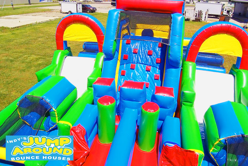 Adrenaline Rush Obstacle Course Bounce House Rental