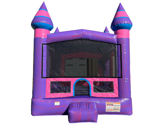 Pink and Purple Castle Front View
