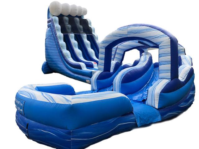 raleigh water slide rental
