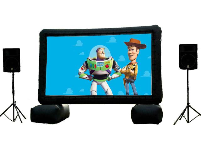 Inflatable Movie Screen Rental in Apex