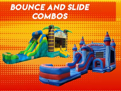 Bounce with Slide Rental in Raleigh