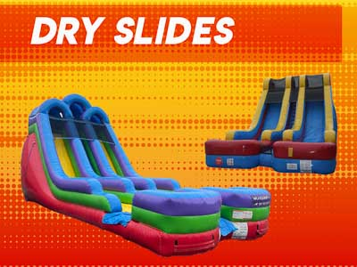 Inflatable Dry Slides Raleigh