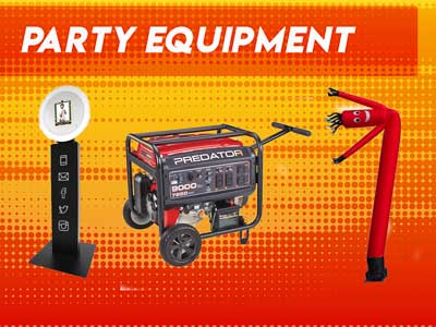 Party Equipment Rental Raleigh