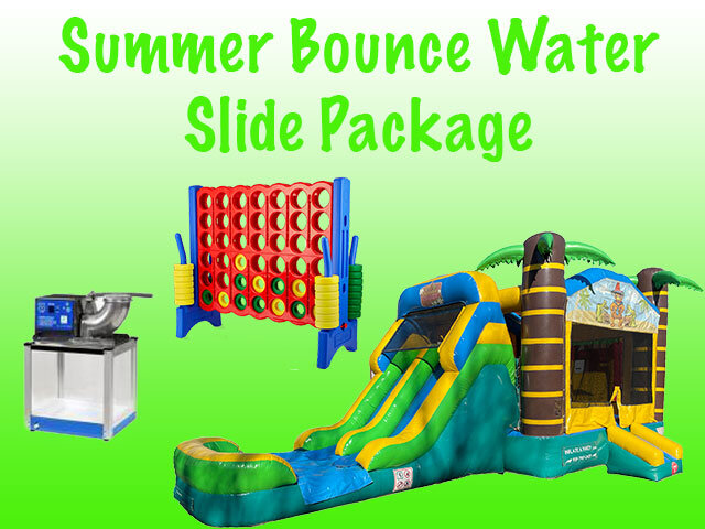 Summer Bounce Waterslide Package