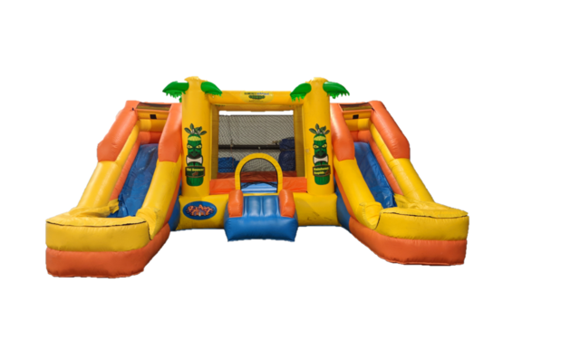 Toddler Bounce and Slide Water Combo