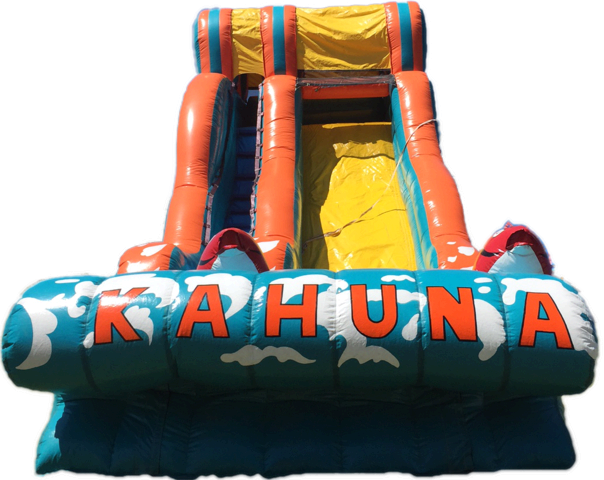 Big Kahuna Backyard Waterslide