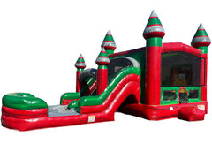 Paradise Bounce Water Slide Combo
