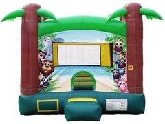 Safari Party Bounce House