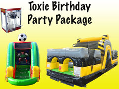 Toxic Birthday Party Package