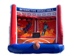 Interactive Basketball Challenge
