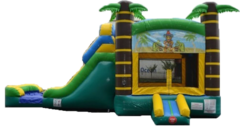 Tiki Bouce and Slide Combo