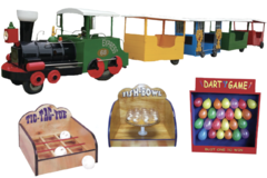 Trackless Train and Carnival Games