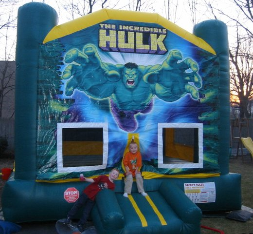 Themed Hulk Bounce House