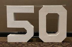 Block 50 Lettering (At Our Facility)