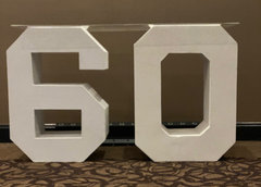 Block 60 Lettering (At Our Facility)