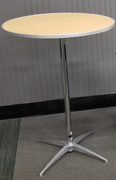 "30"" Round Hi Top Table(At Our Facility)"
