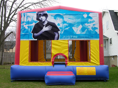 Justin Bieber Bounce House