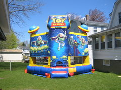 Themed Toy Story Bouncy House