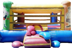 BR1 - 15x15 Boxing Ring with Gloves