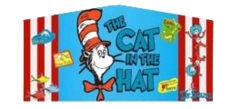Mod cat in hat banner