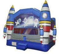 Rocket Bouncy Castle 3 in 1 Combo