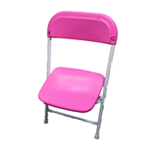 Pink Folding Chairs
