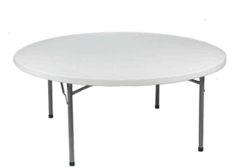 White Round Table 60
