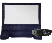 Airblown Inflatable Widescreen  Movie Screen