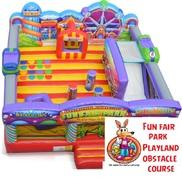 Fun Fair Park Playland Obstacle Course