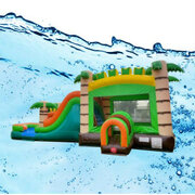 Mega Tropical with Water Slide