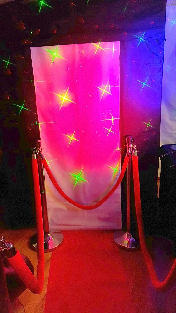 PhotoBooth party special effects lighting