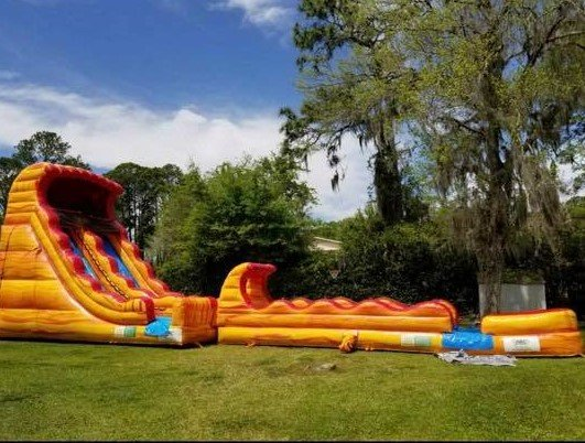 20' Fire and Ice Slide
