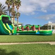 20' Tropical Green Slide w/ extention