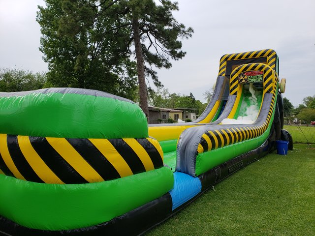 Caustic Drop - Foam Slide