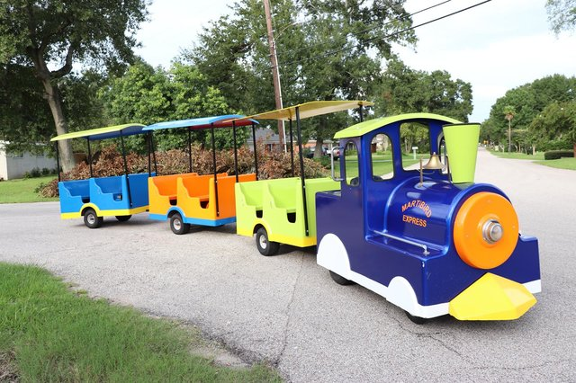 Trackless Train Houston