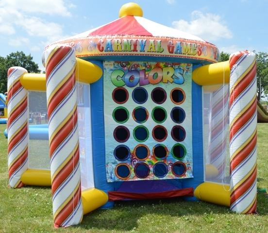5 in 1 Inflatable Game