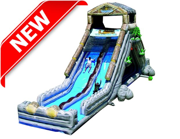Log Jammer Waterslide