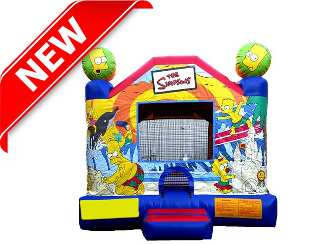 Simpsons Bounce House