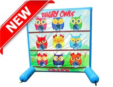 Angry Owls Inflatable Carnival Game