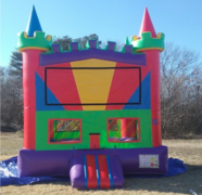Rainbow Castle Bounce