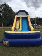 18 Ft Single Lane Water Slide
