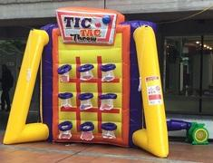 Inflatable Tic Tac Throw