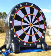 Giant Dart Board with Soccer or Archery