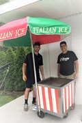 Italian Ice / Water Ice Cart
