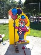 Mini High Striker- Clown