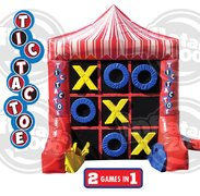 Tic-Tac-Toe / 4-Spot Inflatable Game
